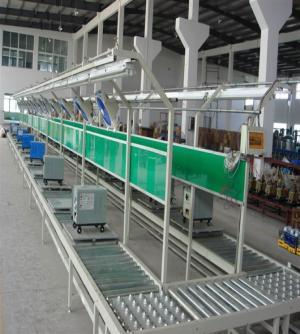 U型滚筒生产线